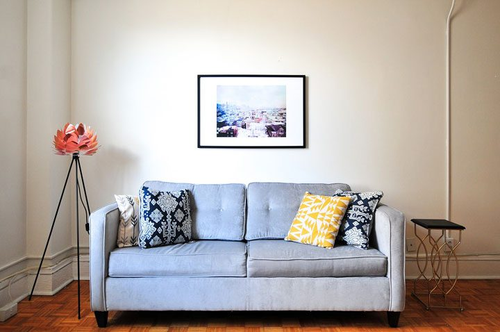 cheap, inexpensive home decor tip to start small, do what is manageable