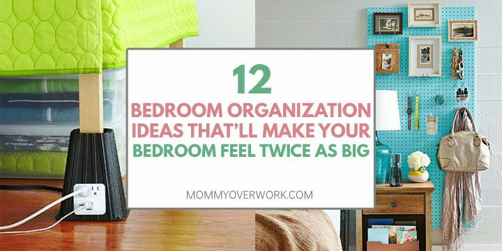 12 Super Easy Bedroom Organization Ideas To Save Tons Of Space
